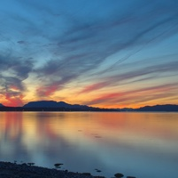 Kathy Paynter's favourite place for sunset photos.