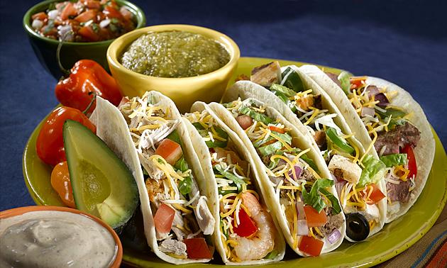 tacos on a platter in El Mirage, Arizona