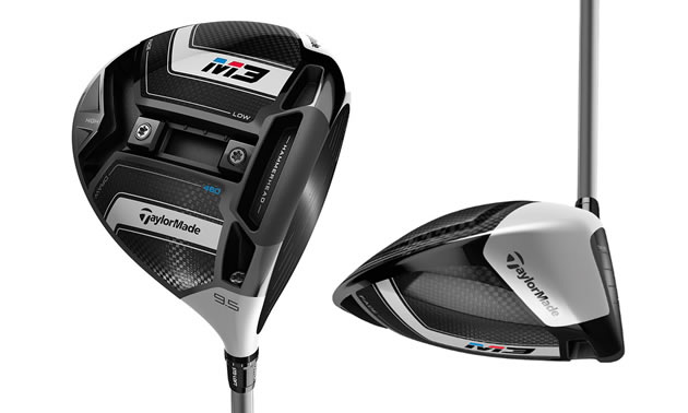 Taylor Made M3 driver with Twist Club Face technology.