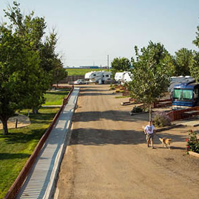 Fort Amarillo RV Park.