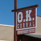 exterior of the OK Corral