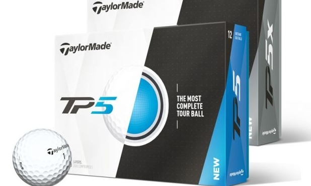 New Taylor Made TP5 Series Golf Ball.  Photo courtesy of Taylor Made Golf