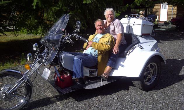 Elmer and Carol Miller. Full time RVers.