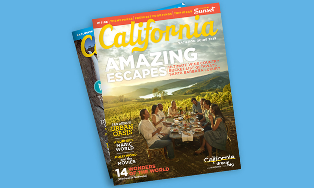 California magazine stack