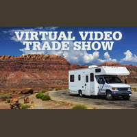 Video trade show poster