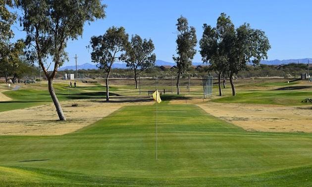 Voyager RV Resort golf course.