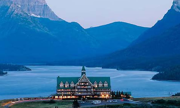 The Prince Of Wales Hotel At Waterton Lakes Provincial Park
