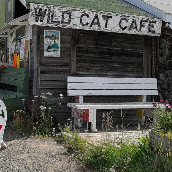 Heritage Site, Old Town, Yellowknife, NWT  compliments of Northwest Territories Tourism