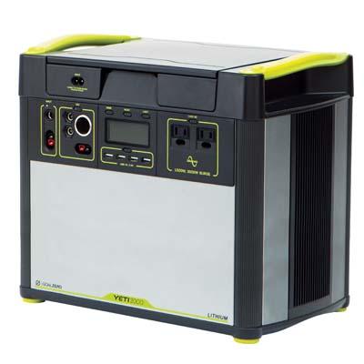 Goal Zero Yeti Lithium 3000 portable power station.