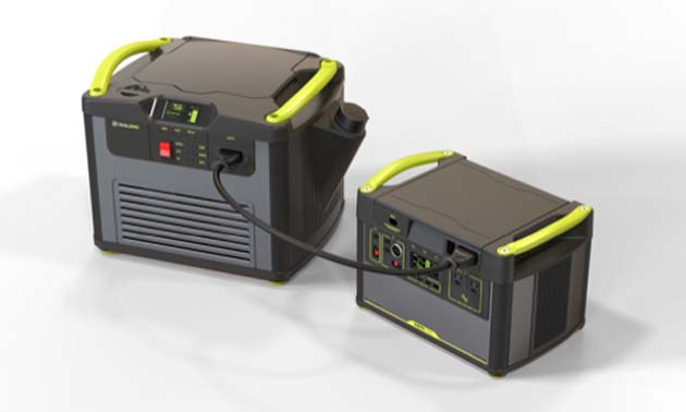 Goal Zero Yeti Fuel generator.