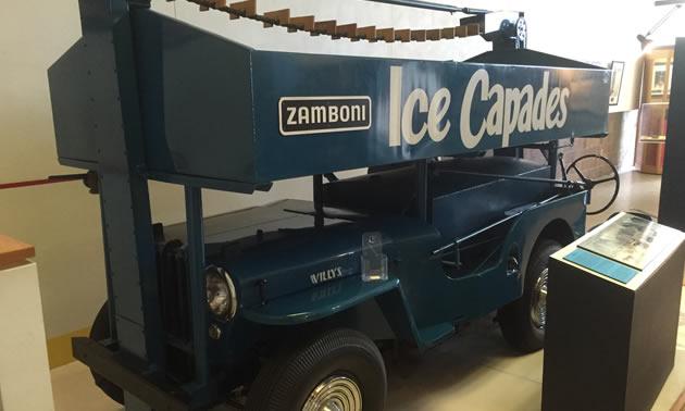 The #4 Zamboni, one of the original designs by Frank Zamboni.
